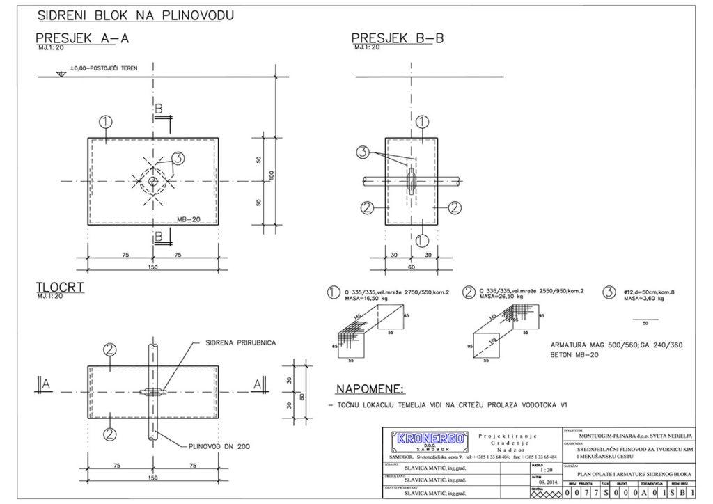 projektiranje-plinovoda-nacrt-sidrenog-bloka