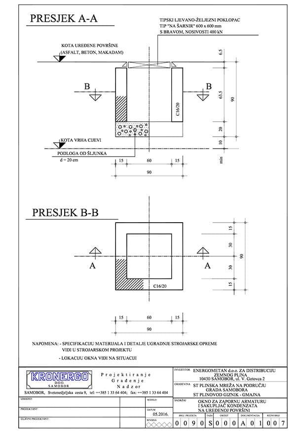 projektiranje-plinovoda-projekt-okna-za-zapornu-armaturu-i-sakupljac-kondenzata-na-uredjenoj-povrsini